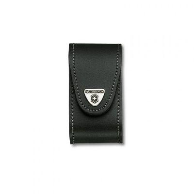 Victorinox púzdro kožené - široké čierne do 91mm