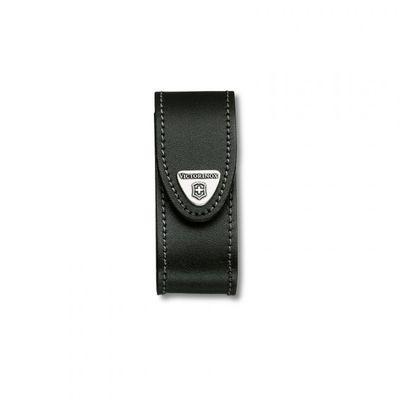 Victorinox púzdro kožené - štandardné čierne do 91mm
